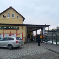 Photo taken at Bahnhof Wünsdorf-Waldstadt by Steffen W. on 3/30/2013