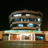 Photo taken at Universidad Autónoma de Campeche by Gabo on 11/16/2012