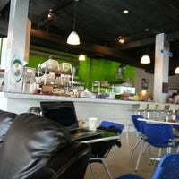 Photo taken at New York Bagel Cafe And Bakery by Xime A. on 1/14/2013