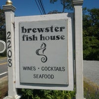 Photo taken at Brewster Fish House by Mike B. on 6/7/2014
