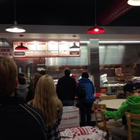 Photo taken at Five Guys by Chris V. on 10/26/2013