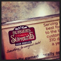 Photo taken at Burgers Supreme by Fábio P. on 11/3/2013