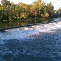 Photo taken at White Rock Lake Spillway by Nora D. on 10/15/2012