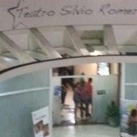 Photo taken at Teatro Silvio Romero by Ulisses N. on 2/16/2013