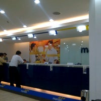 Photo taken at Bank Mandiri by Gatra L. on 12/4/2012