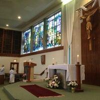 Photo taken at St. Charles Borromeo Catholic Church by Mark A. on 5/4/2013