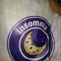Photo taken at Insomnia Cookies by Dana J. on 4/5/2013