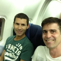 Photo taken at United Boeing 767-300 by Leandro on 7/18/2013