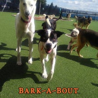 Photo taken at Bark-A-Bout by Crystal C. on 9/23/2016