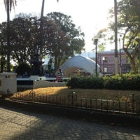Photo taken at Parque Central de Alajuela by Keilor Álvarez on 2/2/2013