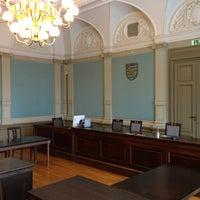 Photo taken at Amtsgericht Zwickau by Christian on 2/26/2013