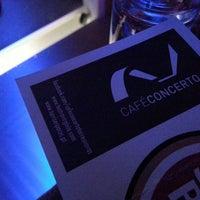 Photo taken at Café Concerto Torres Novas by Hugo Q. on 1/11/2014