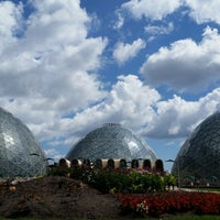 Photo taken at Mitchell Park Horticultural Conservatory (The Domes) by Matt M. on 7/8/2014