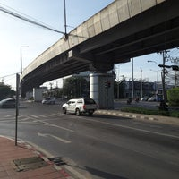 Photo taken at Phatthanakan Intersection by Toysino N. on 8/13/2017