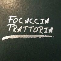 Foto tomada en Focaccia Trattoria por Valeria el 12/16/2012