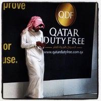 Photo taken at Doha International Airport (DOH) مطار الدوحة الدولي by Christian H. on 5/7/2013