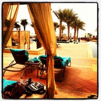 Photo taken at The St. Regis Saadiyat Island Resort by Christian H. on 6/29/2013