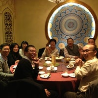 Photo taken at 耶里夏丽新疆餐厅 | يەر شارى by Gianfranco on 11/29/2012