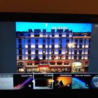 Photo taken at Hotel Bristol Geneva by Shamy on 11/10/2013
