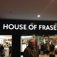 Photo taken at House of Fraser by Shamy on 12/13/2012