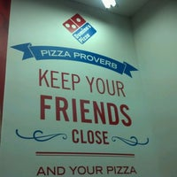 Photo taken at Domino's Pizza Centenario by Mauricio G. on 10/20/2012