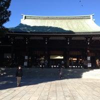 Foto tirada no(a) Honden (Main Shrine) por Sleggar_Law em 11/27/2012