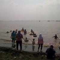 Photo taken at Pantai tanjung kait by Andi W. on 8/3/2014