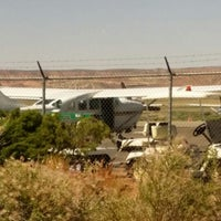 Photo taken at Canyonlands Field Airport (CNY) by Tom M. on 6/4/2014
