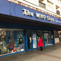 Photo taken at The Who Shop & Museum by Jon A. on 12/6/2016