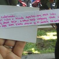 Photo taken at Fakultas Teknologi Industri UII by Dian Fitriani A. on 1/26/2014
