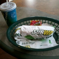 Photo taken at Subway by Geraldin G. on 9/25/2012