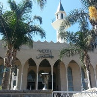 Photo taken at Lakemba Mosque by Felix S. on 3/27/2013