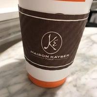 รูปภาพถ่ายที่ Maison Kayser โดย Chick E. เมื่อ 10/1/2018