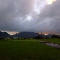 Photo taken at Puakea Golf Course by Derrick F. on 1/8/2013