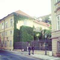 Photo taken at Chopin Hotel Prague by Tatyana M. on 8/25/2013