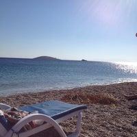 Photo taken at Bedya Beach by Ayse on 10/14/2013