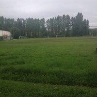 "Photo taken at Стадион ""СпортСервис"" by Snezhana on 7/24/2013"