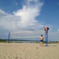 Photo taken at Пляж 6 мкр by Яков on 7/7/2013
