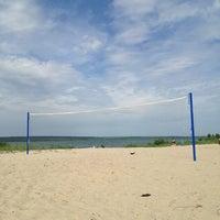 Photo taken at Пляж 6 мкр by Яков on 6/15/2013
