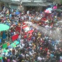 Photo taken at Silom Road by Somkrit B. on 4/14/2013