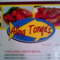 Photo taken at Aling Tonya's Seafood Restaurant / Ihaw Ihaw & Palutuan by Abigael G. on 5/12/2013