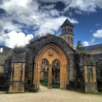 Photo taken at Abbaye Notre-Dame d'Orval by Paolo R. on 8/19/2013