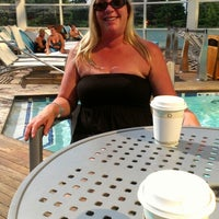 Photo taken at Water Club Pool by Jim W. on 8/5/2014