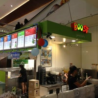 Photo taken at Boost Juice by Eugene J. on 12/20/2012