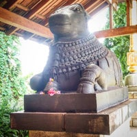 Photo taken at Kauai Hindu Monastery by Moksha R. on 1/19/2017