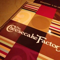 Photo taken at The Cheesecake Factory by Allen C. on 5/25/2013
