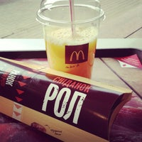 Photo taken at McDonald's by Skrynnikova I. on 4/11/2013