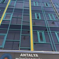 Photo taken at Antalya Büyüksehir Belediyesi Asat Manavgat Şube Müdürlüğü by Celal Ç. on 9/21/2017