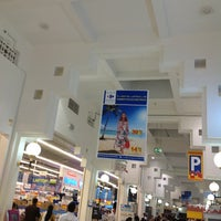 Photo taken at Carrefour by Yulia V. on 5/4/2013