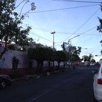 Photo taken at Colonia Salvador Diaz Mirón by Andrews G. on 5/15/2014